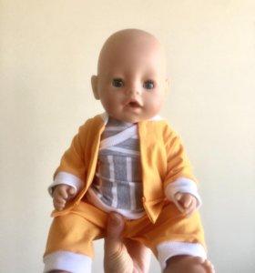 Baby born одежда костюм,новый.