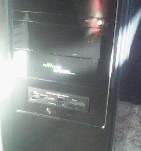 Офисный системный блок AMD-64 x2 5 200+ (Б/У)