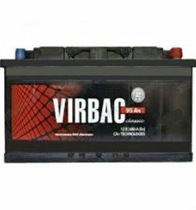 Аккумулятор авто VIRBAC 95А/ч. 680А. 12В.