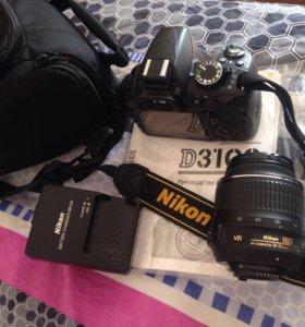 Фотоаппарат зеркальный (с новой сумкой)