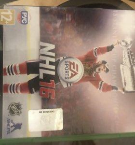 Игра нхл 16 на Xbox one