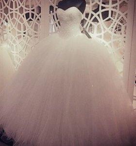 Счастливое свадебное платье 40-42-44
