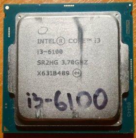 Процессор Intel Core i3 6100 / LGA 1151 / OEM