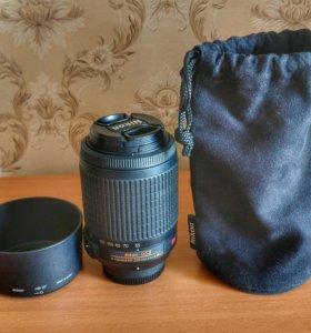 Объектив Nikon AF-S Nikkor 55-200/4-5,6 G ED DX VR