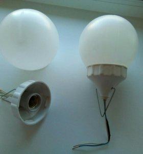 Светильники пластиковые