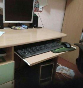 Компьютер в сборе рабочий