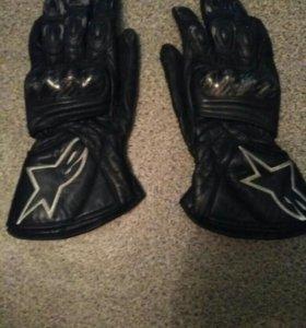 Перчатки для мотоциклиста