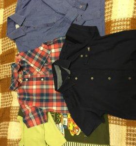 Пакет одежды на мальчика 122-128