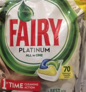 FAIRY PLATINUM 70 doz