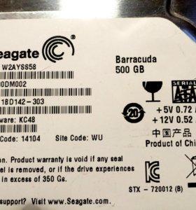 Жесткий диск Seagate SATA 500 gb