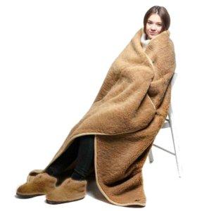 Одеяло-покрывало меховое из верблюжьей шерсти