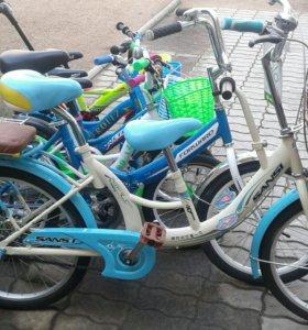 Велосипед для троих