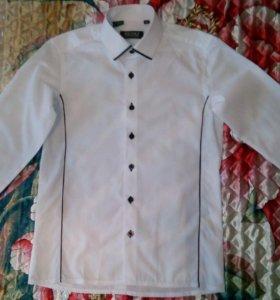 Детская рубашка размер 34