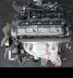 Двигатель на Сузуки гранд витара 2007 J20A