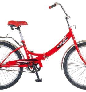"""Велосипед """"НОВОТРЕК"""" на 24""""колеса,складной С ДОК."""