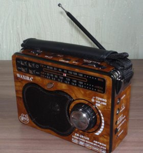 Радиоприемник FM/AM (220В/USB/MicroSD/AUX)