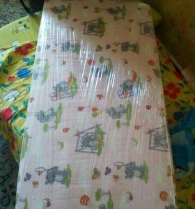 Матрас в детскую кроватку.