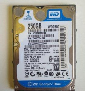 Western Digital 250 Gb