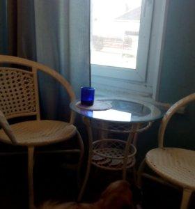 Мебель из искуственного ротанга