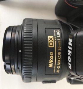 Nikon 35mm f/1.8DX с UV фильтром B+W: на гарантии
