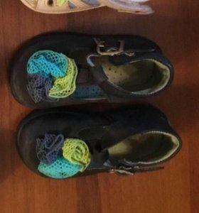 Итальянские туфельки, Натуральная кожа