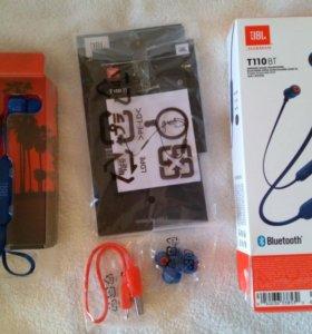 Беспроводные наушники JBL T110BT Blue