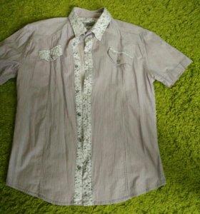 Мужская рубашка р.48