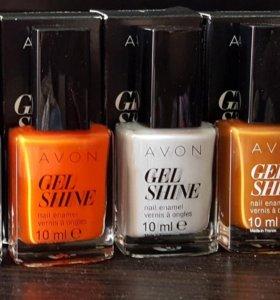 Новые лаки для ногтей Avon, 10 мл