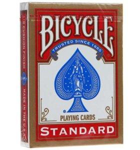 Игральные карты Bicycle Standard (красная рубашка)