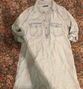 Новое джинсовое платье Размер 46-48