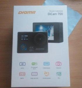 Экшн-камера. DIGMA DiCAM 700