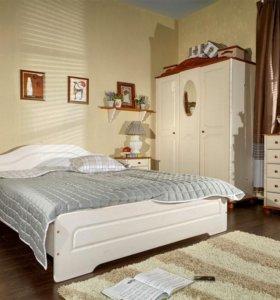 Кровать Эвика массив