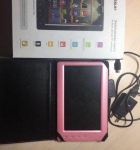Электронная книга wexler t7022(розовый)