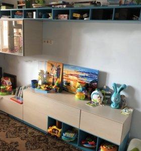 Мебель(модульная стенка) для гостиной или детской