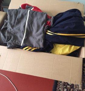 Коробка спортивной одежды