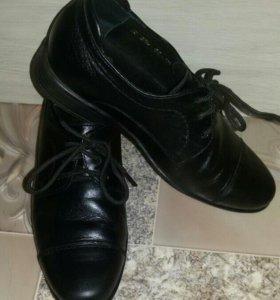 Ботинки школьные р.32, кожа