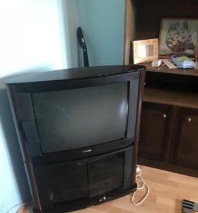 Телевизор philips на подставке