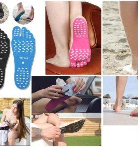 Пляжные наклейки на ступни