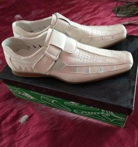 Мужской летний туфли