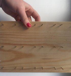 Подставка для серёг и брелков ручной работы