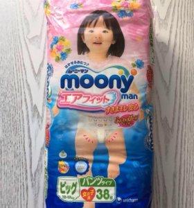 Moony памперсы-трусики XL 12-17 кг (38шт.)