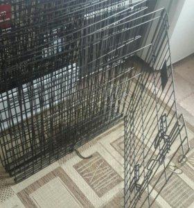 Клетка для собаки.