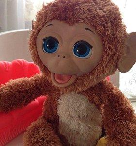 "Hasbro Fur real friends ""Смешливая обезьянка"""