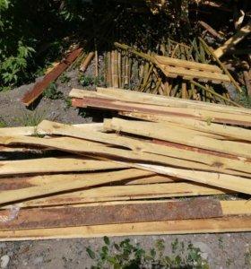 дрова-доски на дрова