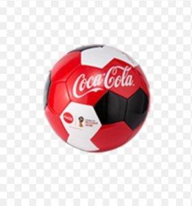 Мяч от coca cola