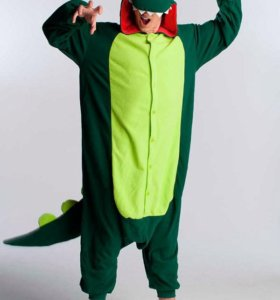 Кигуруми дракон зелёный