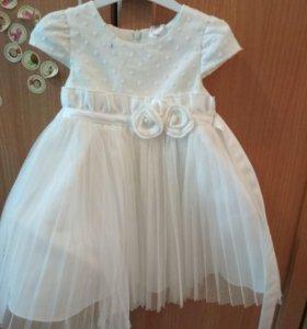 Платье нарядное 80 см