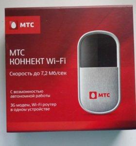 3G и Wi-fi роутер ( МТС)