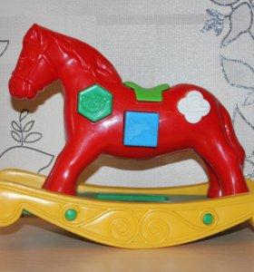 Игрушка сортер качалка лошадка