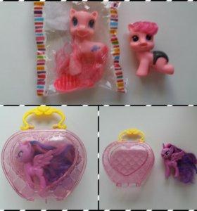 Игрушки Пони